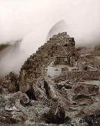 Machu Picchu, Peru, 1984, toned gelatin silver print, 12 x 10 inches
