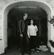 Couple in Front of Gate and Doorway, San Francisco, 1968