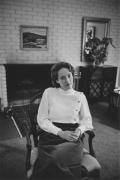 Margaret Carpenter at home, Detroit, 1968