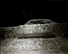Stephen Salmieri, 1965 Coupe de Ville, Route 9, New York, 1972, vintage gelatin silver print, 11 x 14 inches
