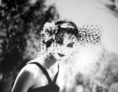 Anne Saint-Marie, New York, Chanel Advertising Campaign, 1958, elatin silver print, 20 x 24 inches