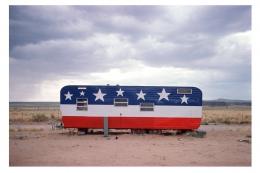 Trailer, Arizona, Route 66, 1975