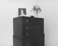 #32 master bedroom, Pikesville, Maryland, 1977-1978