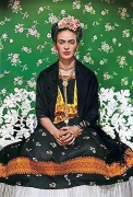 Frida Kahlo on White Bench, 1939