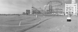 Parking Lot, The Pike, Long Beach, 1980