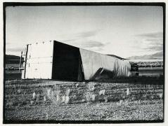 Overturned Truck, 1971, vintage gelatin silver print (Itek print)