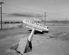 Diesel, Gila Bend, Arizona, carbon pigment print, 22 x 28 inches