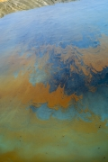 Fracking Pond: Pecos, Texas., from the series,Beneath the Dirt of Great Men