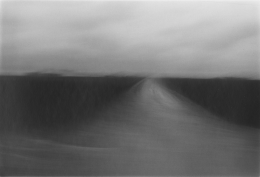 Sand Road, 1980, vintage gelatin silver print
