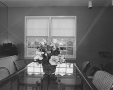 #1 dining room, Potomac, Maryland, 1977