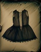 Susan Seubert Dress-o-gram 6, 2005, dry plate tintype