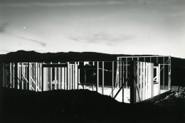 Lewis Baltz, Night Construction, from NEVADA