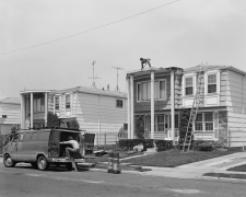 Men Fixing House near S.I. Mall, 1983-84
