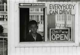 Coney Island, NY, 1966, vintage gelatin silver print