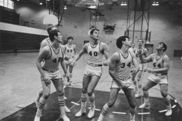 High school basketball, Detroit, 1968
