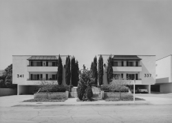 Bevan Davies, Apartment Houses near Hollywood, California