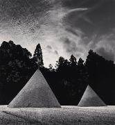Sand Mounds, Kamigamojinja, Kyoto, Japan, 1987