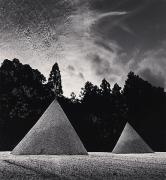 Sand Mounds, Kamigamojinja, Kyoto, Japan, 1987