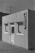Barber Shop, Kansas, c. 1975