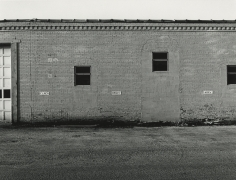 Chilton, WI, from the series, Sites of Southern Wisconsin, 1981