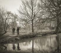 The Moat, Sissinghurst, from the series In the Garden