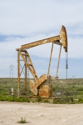 Oil Pump Jacks: Maljamar, New Mexico, from the series,Beneath the Dirt of Great Men