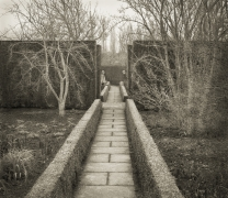 Girl and Boy, Sissinghurst, from the series In the Garden