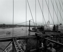 Diane Cook, View From Brooklyn Bridge, 2002