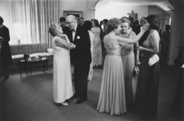 Formal cocktail party, Detroit, 1968