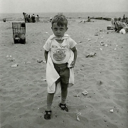 Coney Island, NY, 1970, vintage gelatin silver print, 7 x 7 inches