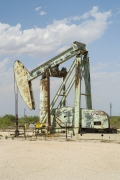 Oil Pump Jacks: Jal, New Mexico, from the series,Beneath the Dirt of Great Men