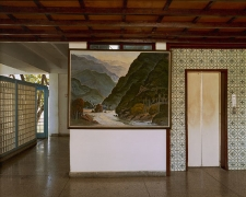 Landscape Painting of Baracoa, Hotel Guantánamo Lobby, Guantánamo, Cuba, 2004