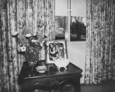 bedroom table, Baltimore, Maryland, 1977