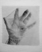 My Grandmother's Hand w/ stocking, 1978 (printed 1987)