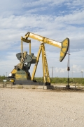 Oil Pump Jacks: Andrews, Texas, from the series, Beneath the Dirt of Great Men