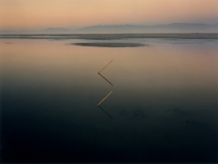 Great Salt Lake Angles, Great Salt Lake, Utah, 1977