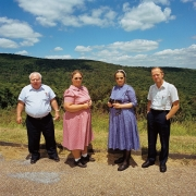 Two Hutterite Couples at Shenandoah National Park, Virginia