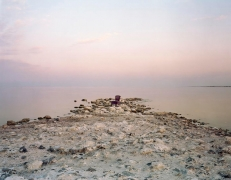 Virginia Beahan Pink Chair, Salton Sea