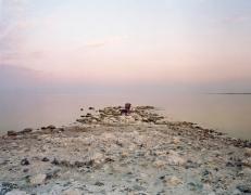 Virginia Beahan Pink Chair, Salton Sea