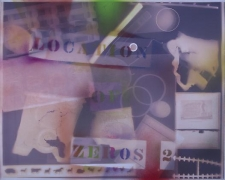 Location of Zeros 2, from the series Spray Painted Photograms