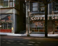 Ft. Dearborn Coffee, Chicago, 1977, digital chromogeninc print
