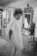 Woman at a beauty salon, Detroit, 1968