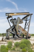 Oil Pump Jacks: Andrews, Texas, from the series,Beneath the Dirt of Great Men