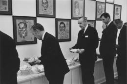 Executive lunchroom, Detroit, 1968