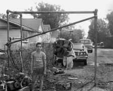 Boy with Staten Island T-shirt, 1983-84