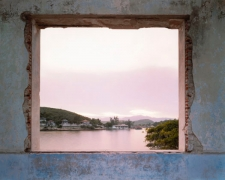 View of La Socapa From Ruins of Club Nautica, Santiago de Cuba, 2004, chromogenic print