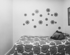 #14 guest room, Randallstown, Maryland, 1977-1978