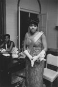 Gala hostess, Detroit, 1968