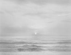 Chip Hooper Sunset, Bonny Doon Beach, 2002, gelatin silver print