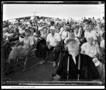 Military Appreciation day, Yuma, Arizona, 1985, vintage gelatin silver print